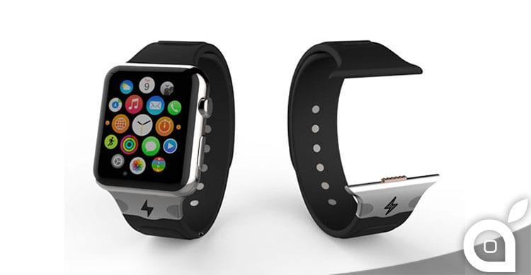 In futuro arriveranno i cinturini che ricaricheranno l'Apple Watch?