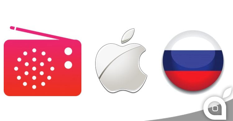russia apple streaming musicale
