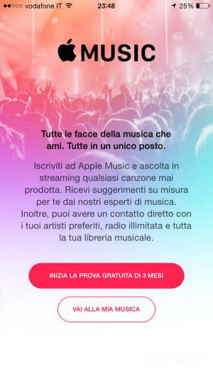apple music prezzo in italia