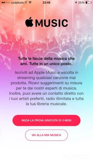 apple music prezzo in italia