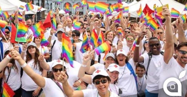 Apple prende parte alla Gay Pride Parade di San Francisco con 8.000 dipendenti
