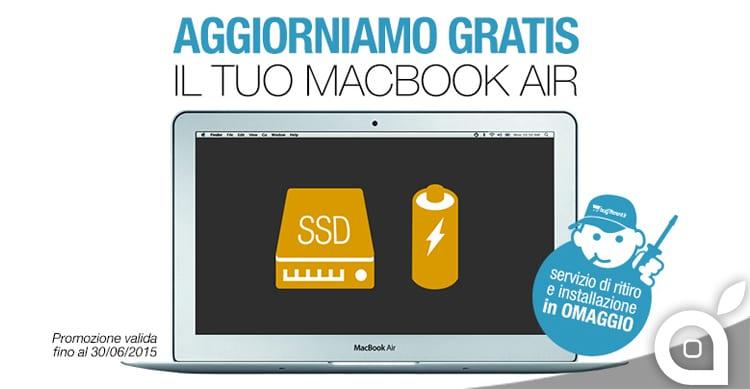 Aggiorna il tuo MacBook Air, BuyDifferent regala l'installazione