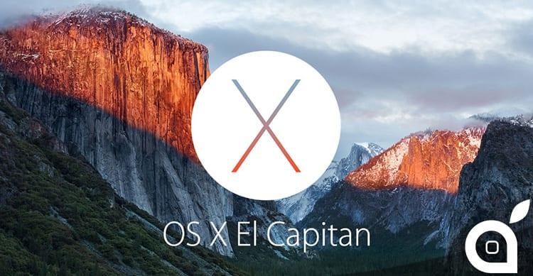 Apple rilascia OS X El Capitan 10.11.2 in versione finale: Ecco cosa cambia