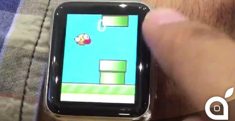 Un hack permette di installare applicazioni native su Apple Watch, bypassando l'App Store: Ecco Flappy Birds [Video]