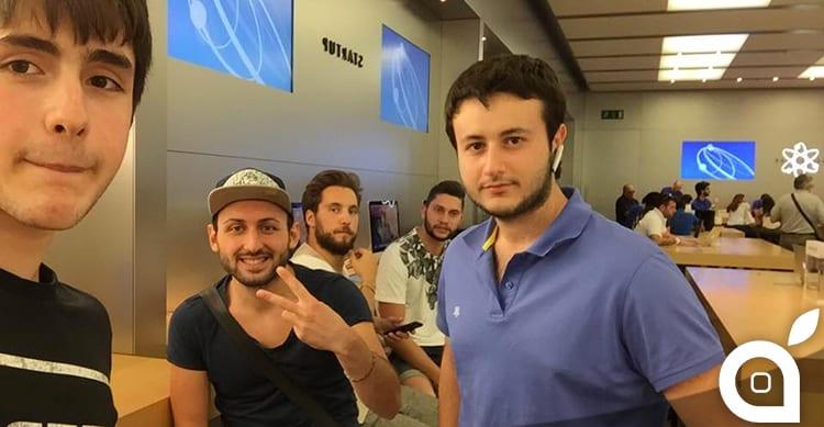 In alcuni Apple Store italiani è già iniziata la fila per acquistare l'Apple Watch [LIVE – 08:00]