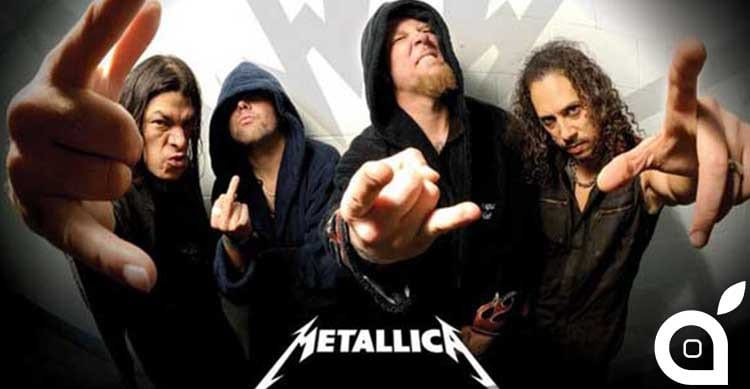 metallica apple music