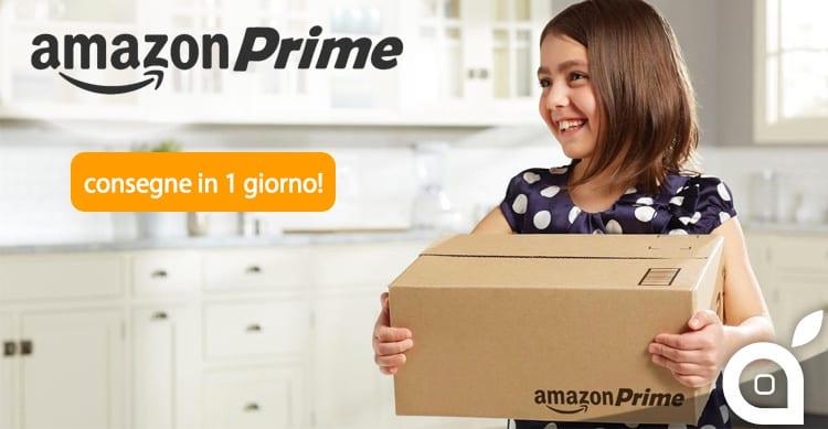 Amazon Prime si evolve: adesso le consegne in Italia avvengono in 1 solo giorno!