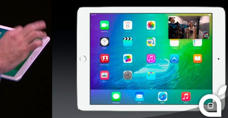 iPad Pro: risoluzione pari a due iPad Air 2 affiancati | Rumor