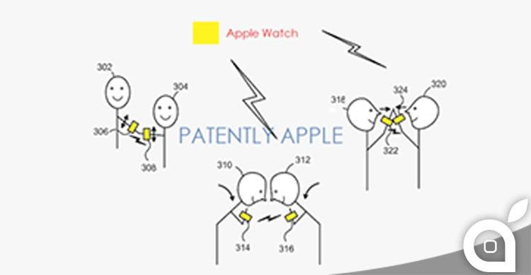 Nuovo brevetto Apple: scambio file tramite Apple Watch
