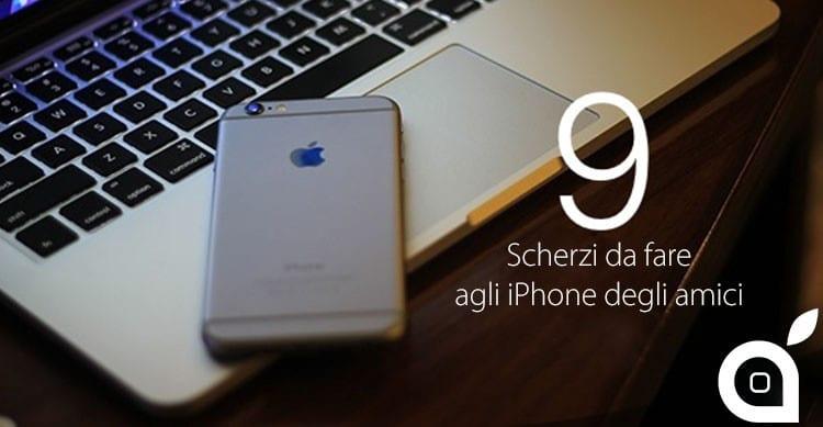 scherzi iphone