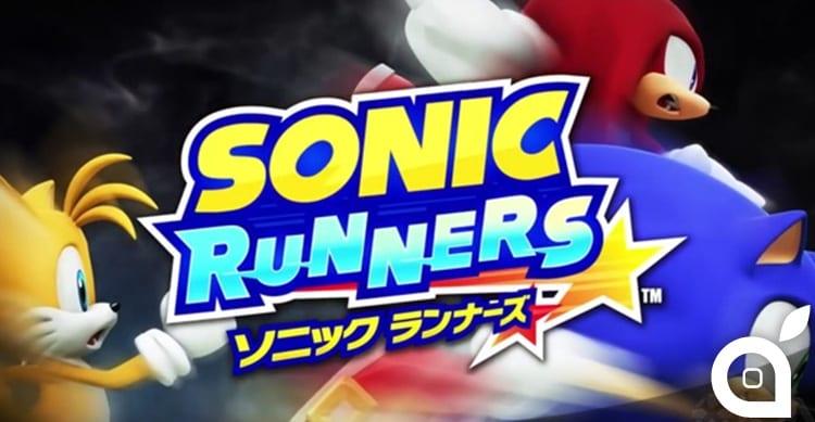 """Disponibile gratuitamente su App Store """"Sonic Runners""""[Video]"""