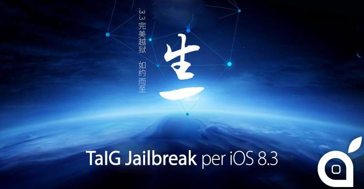 Disponibile TaiG Jailbreak 2.1.3. Ecco il download e le istruzioni per l'utilizzo