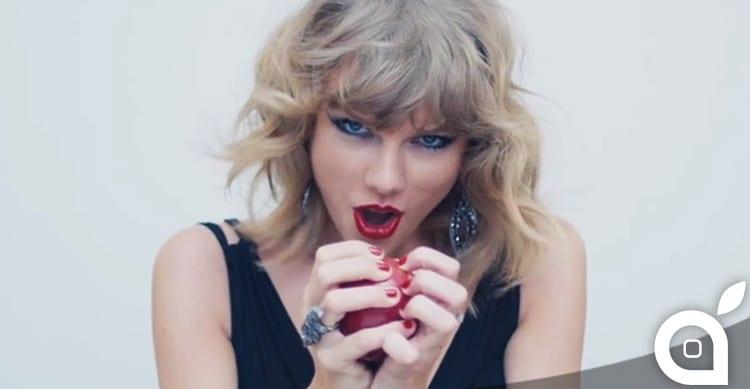 Taylor Swift critica il periodo di prova gratuito di Apple Music in una lettera aperta