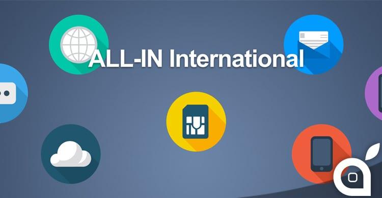 ALL-IN International di Tre: fino a 500 minuti ed 1GB di internet per chiamare all'estero con 5€ al mese