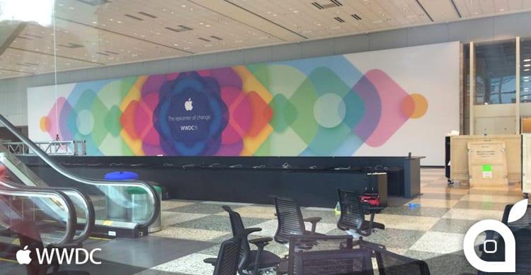 Apple ha quasi terminato le decorazioni del Moscone Center per la WWDC 2015 [AGGIORNATO]