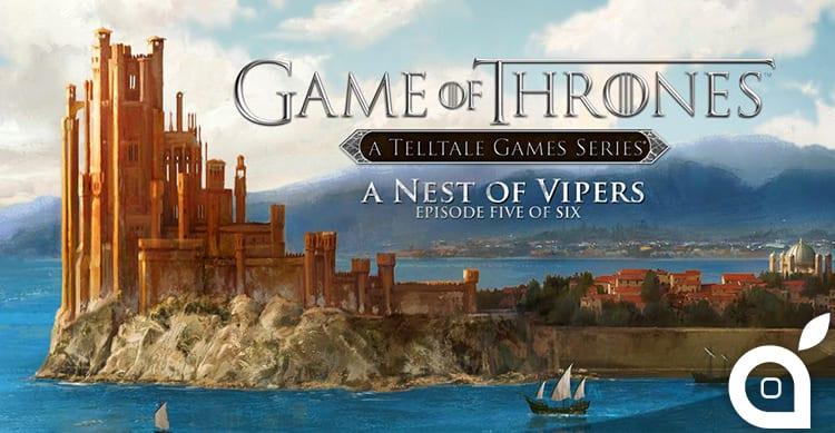 Telltale annuncia il quinto e penultimo episodio di Game Of Thrones per iOS [Video]