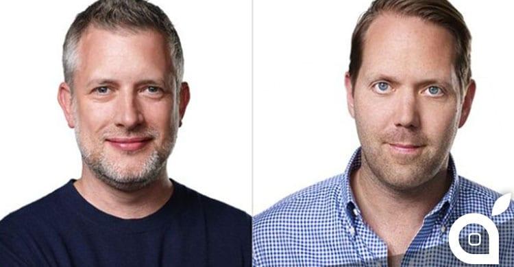 Richard Howarth e Alan Dye, responsabili del design in Apple, premiati tra i migliori 100 creativi del mondo