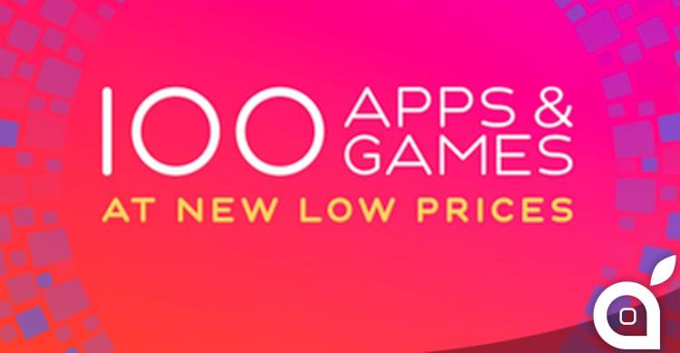 Apple sconta 100 applicazioni e giochi a soli 0,99€