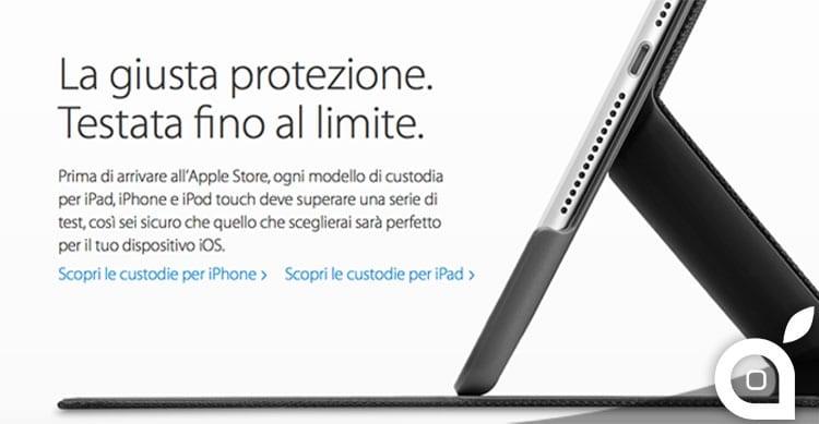 Apple Store: disponibile la sezione Custodie testate da Apple