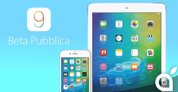 Apple rilascia la seconda beta pubblica di iOS 9