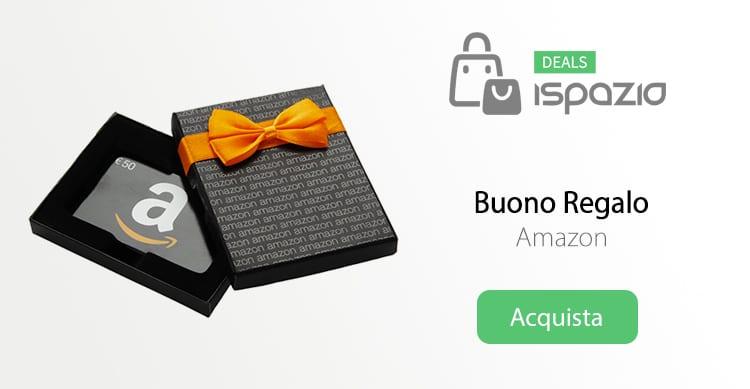ULTIME ORE! Promozione Amazon: Acquista un Buono Regalo da 50€ ed ottieni 10€ in più, in omaggio!