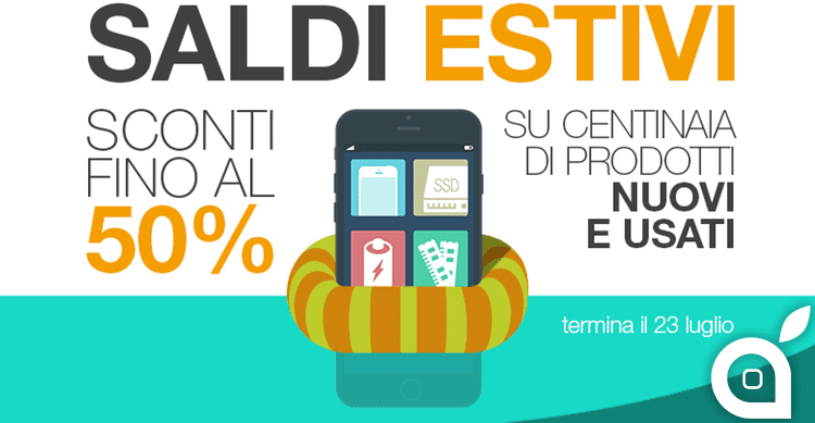 Saldi BuyDifferent: Upgrade Mac, iDevice Usati e corsi fino a -50%