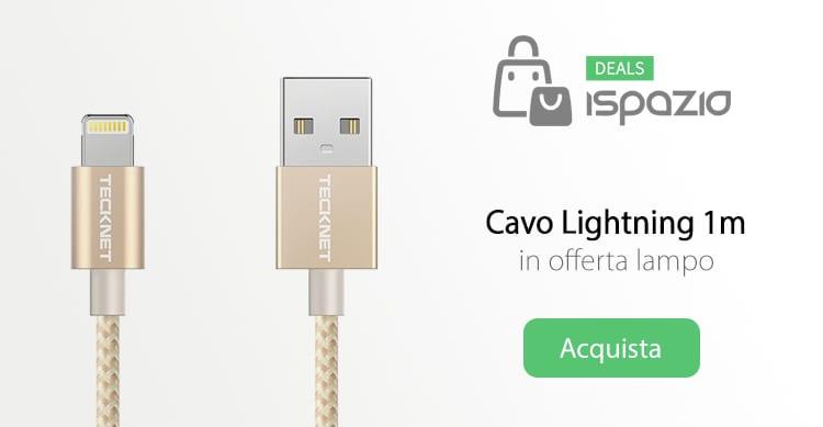 Cavetto Lightning in Nylon, ultra-resistente in offerta su Amazon
