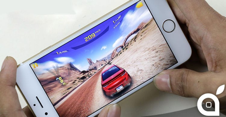 gaming on iphone 6