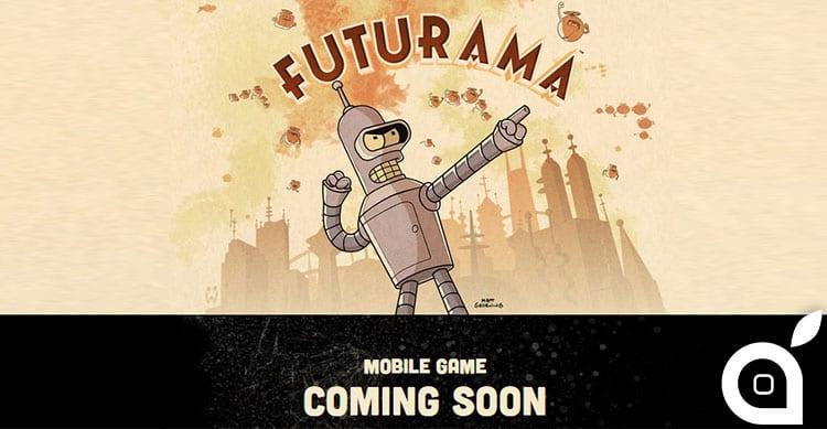 In arrivo su iOS e Android il gioco di Futurama!