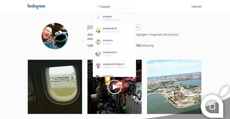instagram integra funzione cerca