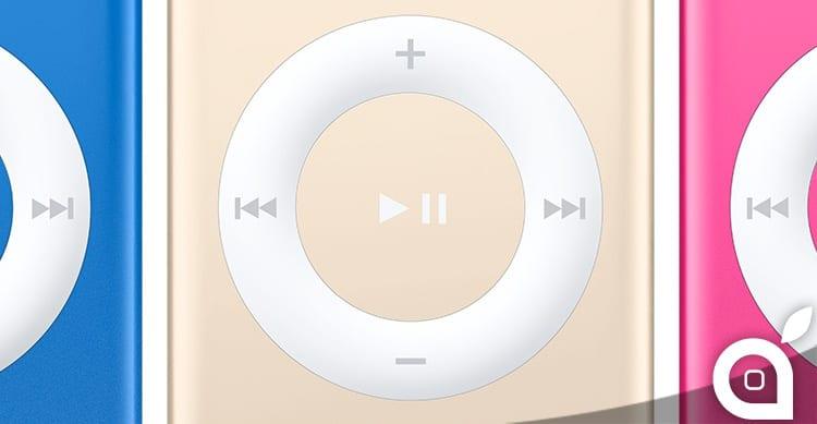 iTunes 12.2 svela l'arrivo di nuovi iPod in nuove colorazioni!