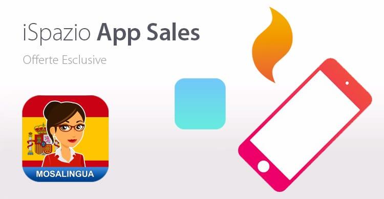 L'applicazione Mosalingua Spagnolo è gratuita con iSpazio. Approfittatene!