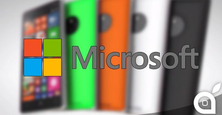 Microsoft progetta almeno 6 nuovi smartphone Lumia