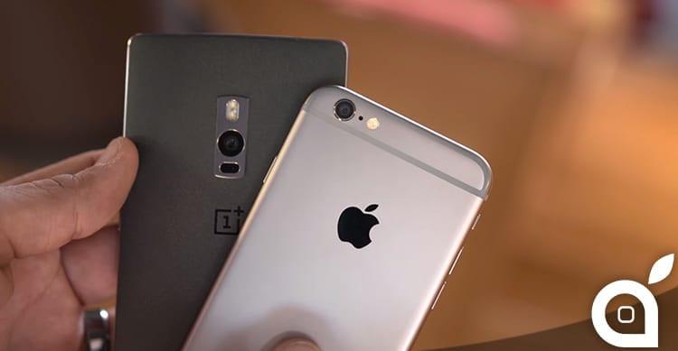 OnePlus 2 vs iPhone 6: un testa a testa tra ottimi smartphone a prezzi molto diversi [Video]