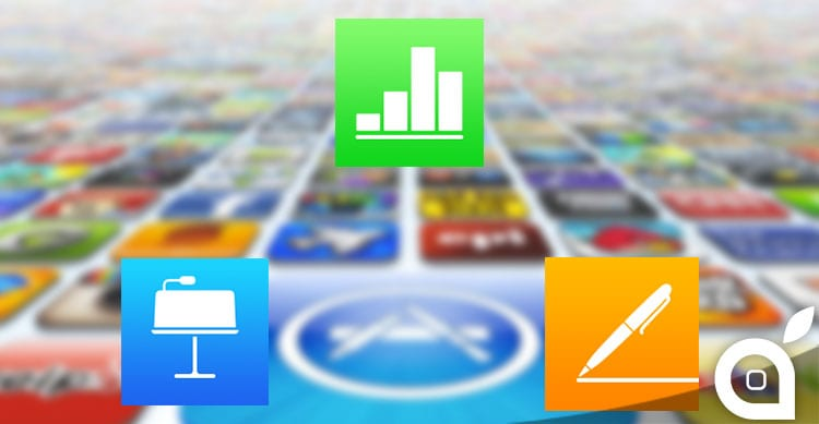 Apple aggiorna Pages, Numbers e Keynote