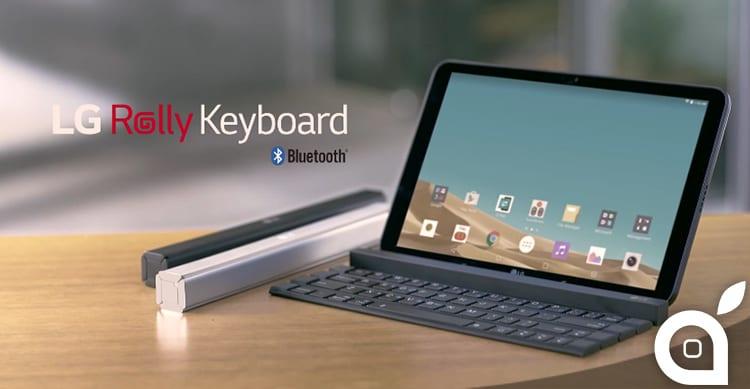 LG annuncia Rolly, una nuova tastiera pieghevole Bluetooth per smartphone e tablet [Video]