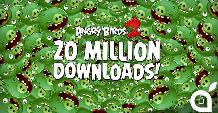 Angry Birds 2 raddoppia il suo successo in soli 3 giorni [Video]