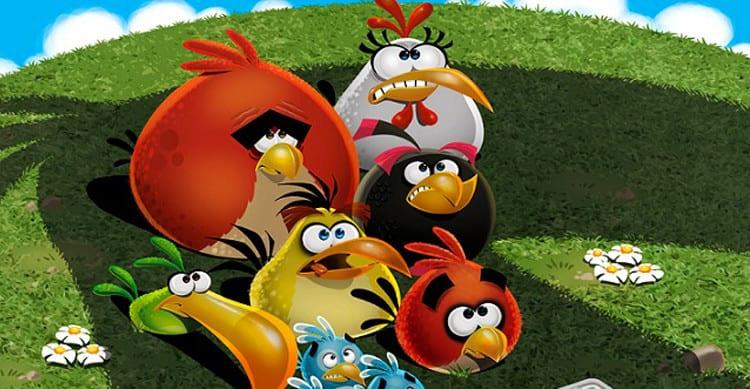 angry birds sad