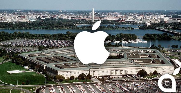 Apple collabora con il Pentagono per lo sviluppo di nuove attrezzature militari