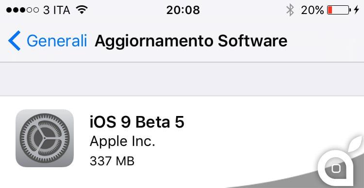 ios 9 beta-5