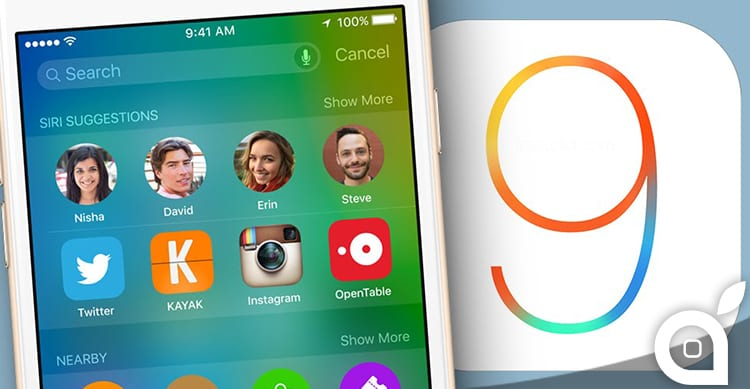 Apple blocca le firme di iOS 8.4.1 e iOS 9.0 dopo il rilascio di iOS 9.0.2