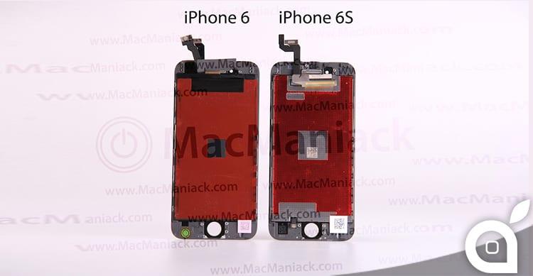 Un video mette a confronto i display di iPhone 6 e iPhone 6s | Rumor