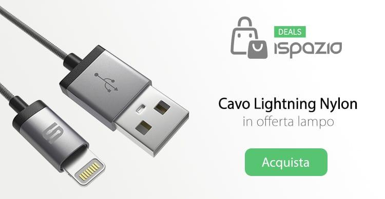 Prezzo stracciato: Cavetto Lightning MFI in Nylon -ultraresistente- a soli 7,99€!
