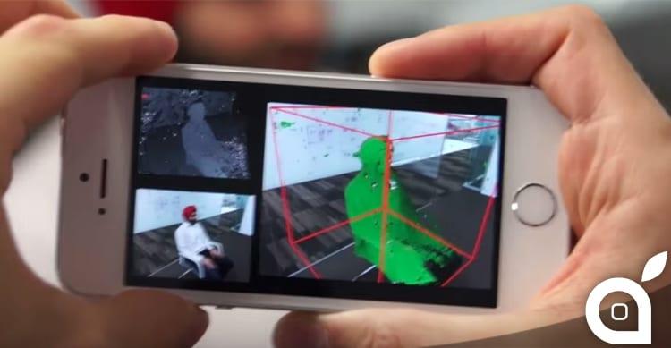 Microsoft progetta MobileFusion, l'applicazione che trasforma l'iPhone in uno scanner 3D
