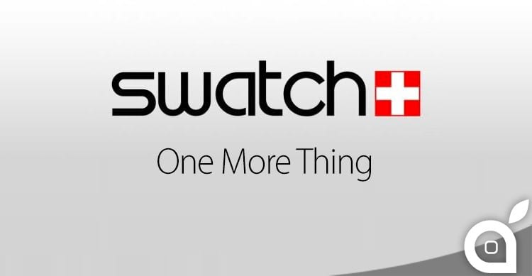 swatch one more thing