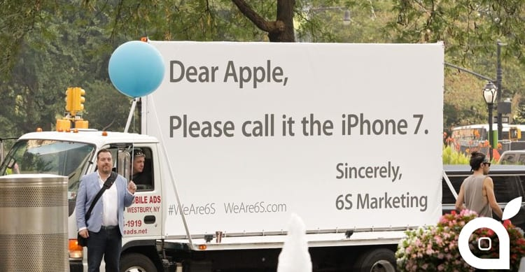 L'agenzia pubblicitaria '6S Marketing' chiede ad Apple di cambiare il nome di iPhone 6s