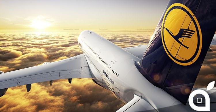 Anche l'Europa godrà di internet sui voli Lufthansa
