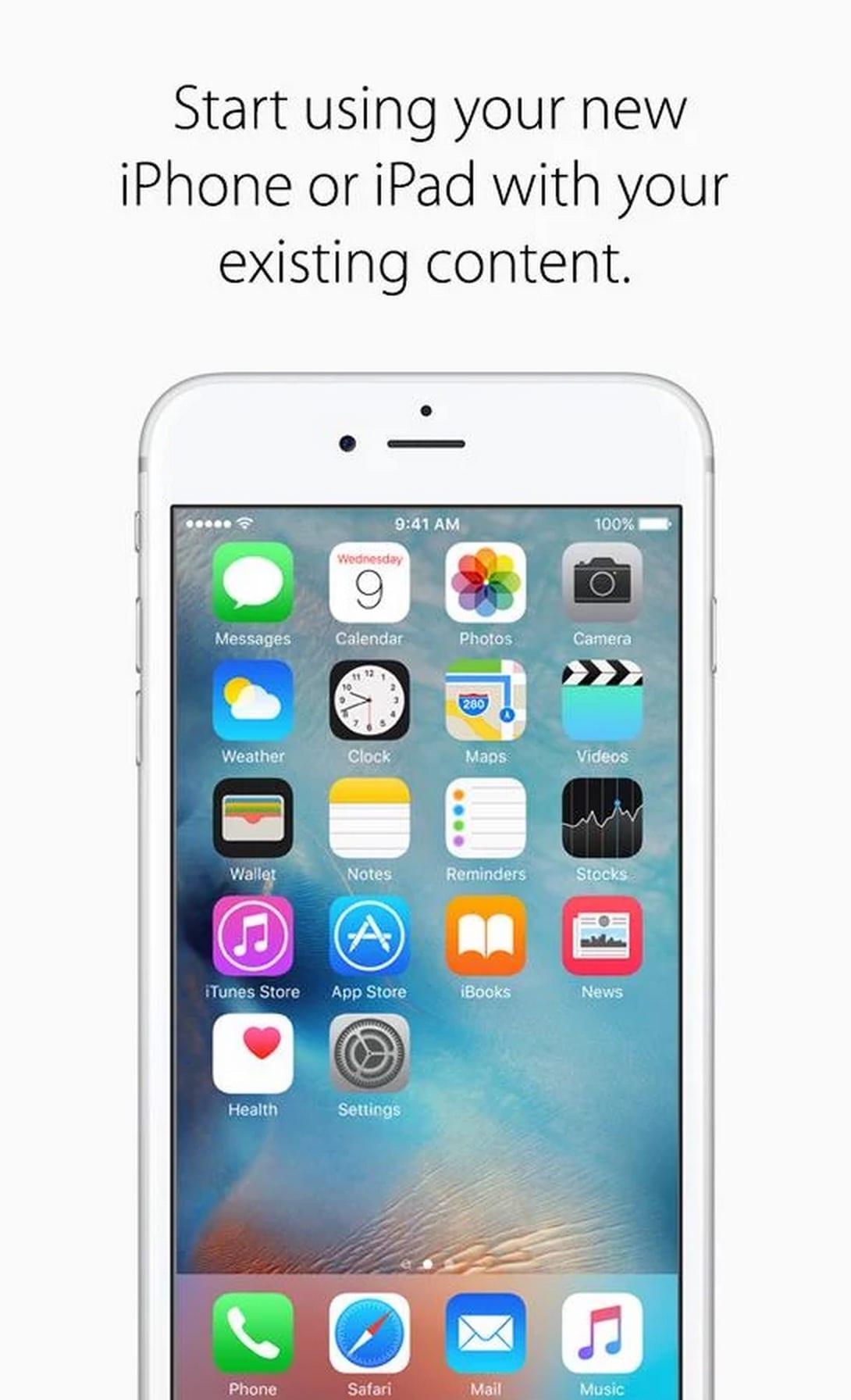 Schermata Sblocco Iphone 6s Plus