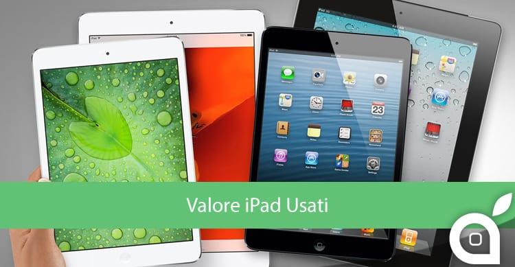 Valore iPad Usati
