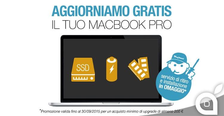 aggiornamento macbook